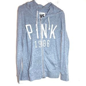 Spring light weight grey XS hoodie PINK Victoria